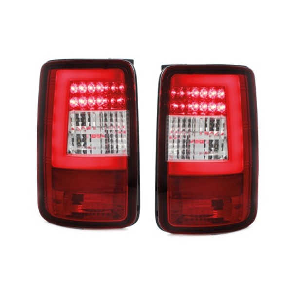 LED baglygter VW Caddy_03-15_red/clear