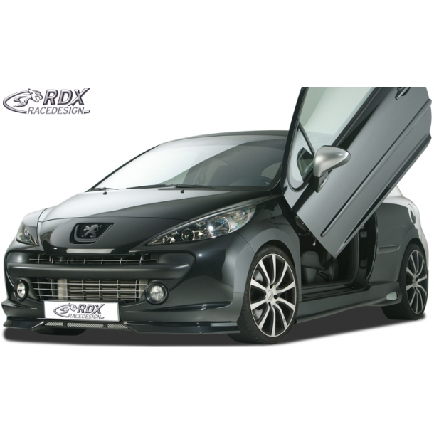 front spoiler peugeot 207 207cc 2009 bodykits styling ctstyling aps. Black Bedroom Furniture Sets. Home Design Ideas