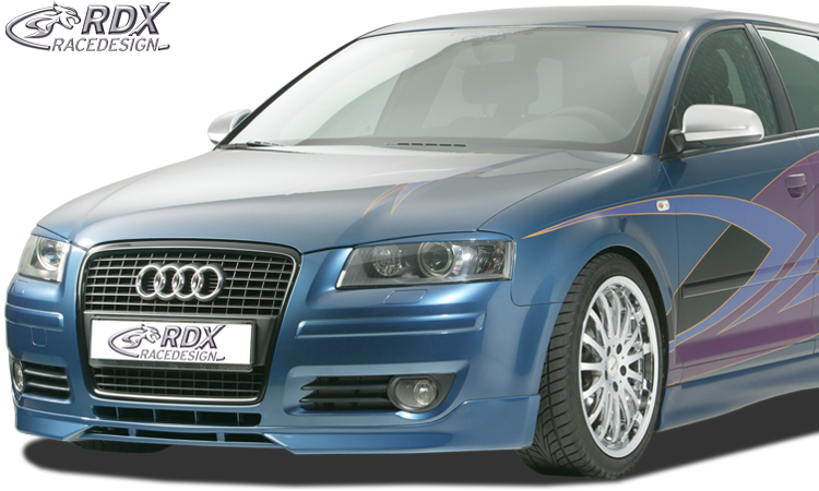 front spoiler audi a3 8p 2006 2008 bodykits. Black Bedroom Furniture Sets. Home Design Ideas