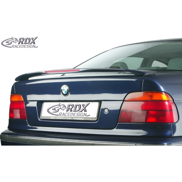 Bag Spoiler BMW 5-serie E39 sedan med LED-Bremselys