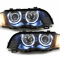 Angel Eyes Forlygter BMW E46 LIM. BLACK