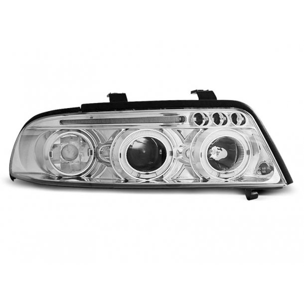AUDI A4 01.99-09.00 ANGEL EYES CHROME