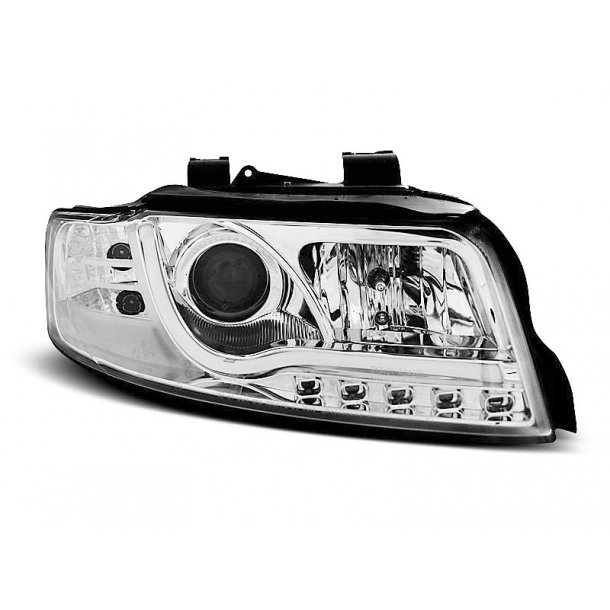 AUDI A4 10.00-10.04 LED TUBE LIGHTS CHROME
