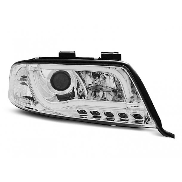 AUDI A6 06.01-05.04 LED TUBE LIGHTS CHROME