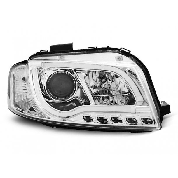 AUDI A3 8P 05.2003-03.2008 LED TUBE LIGHTS CHROME