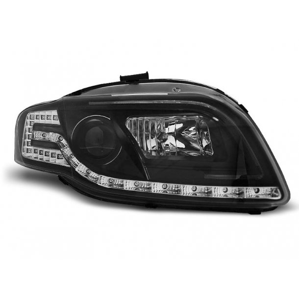 AUDI A4 B7 11.04-03.08 LED TUBE LIGHTS BLACK
