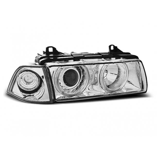 BMW E36 12.90-08.99 ANGEL EYES CHROME LIMOUSINE, TOURING, COMPACT