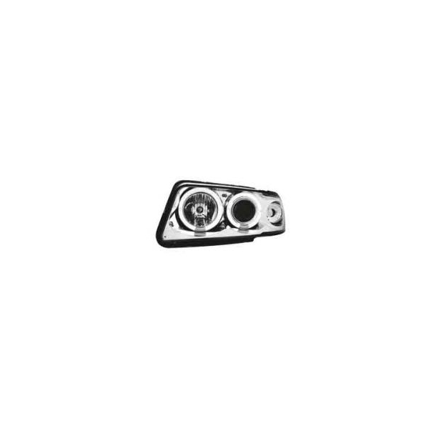 Angel Eyes Forlygter Audi A4 99-01 Crome