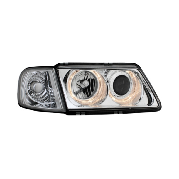 Angel Eyes forlygter AUDI A3 8L 09.96-08.00 CHROME