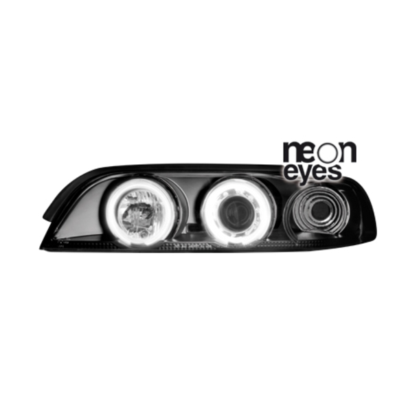 Angel Eyes forlygter BMW E39 5ER BLACK
