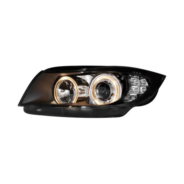 Angel Eyes forlygter BMW E90 LED INDICATOR_BLACK