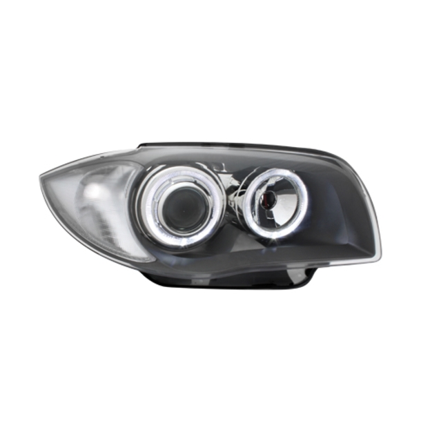 Angel Eyes Forlygter BMW 1ER E87 04-07 GREY