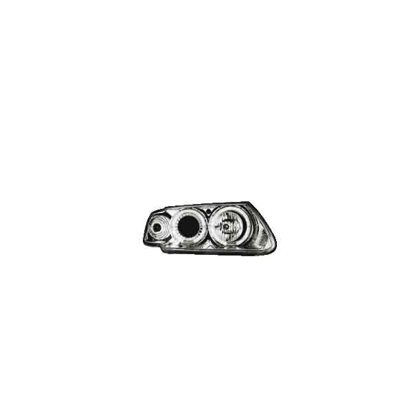 Angel Eyes Forlygter Citroen Saxo 96-00 Chrome