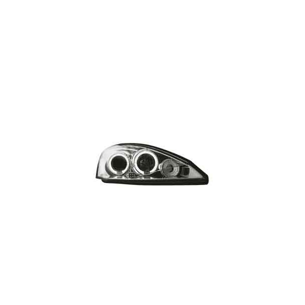 Angel Eyes Forlygter Ford Focus 2001-2004 Crome