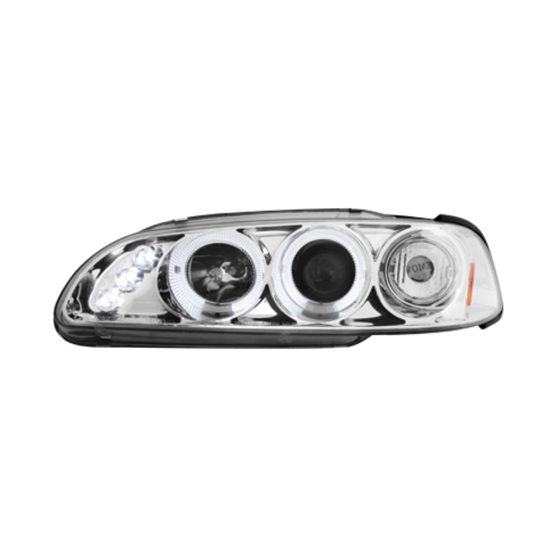 Angel Eyes forlygter  HONDA CIVIC 2/3D 91-95 CHROME