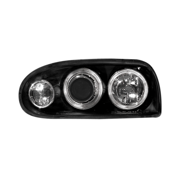 Ange Eyes Forlygter VW GOLF III 92-98_BLACK